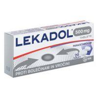 Lekadol 500 mg, 20 tablet