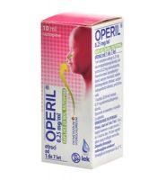 Operil 0,25 mg/ml kapljice za nos za otroke, raztopina 10 ml