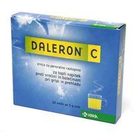 Daleron C zrnca,  10 X 500 mg