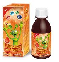 Marsovci sirup 150 ml, pomaranča