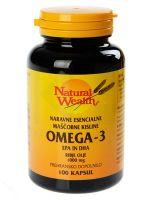 Natural Wealth omega-3, 100 kapsul