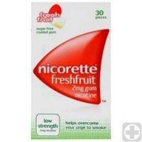 Nicorette Freshfruit nikot. žveč. gumi 30X2mg
