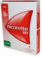 Nicorette obliži set 7X25mg