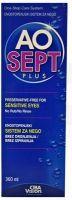 Aosept Plus raztopina za vse vrste kontaktnih leč, 360ml