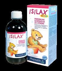 Bimbi Isilax sirup 200 ml, sirup za boljšo prebavo